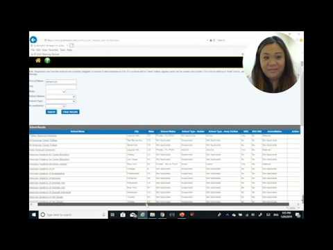 How To Search For Schools And Programs Using GoArmyEd - Demonstration
