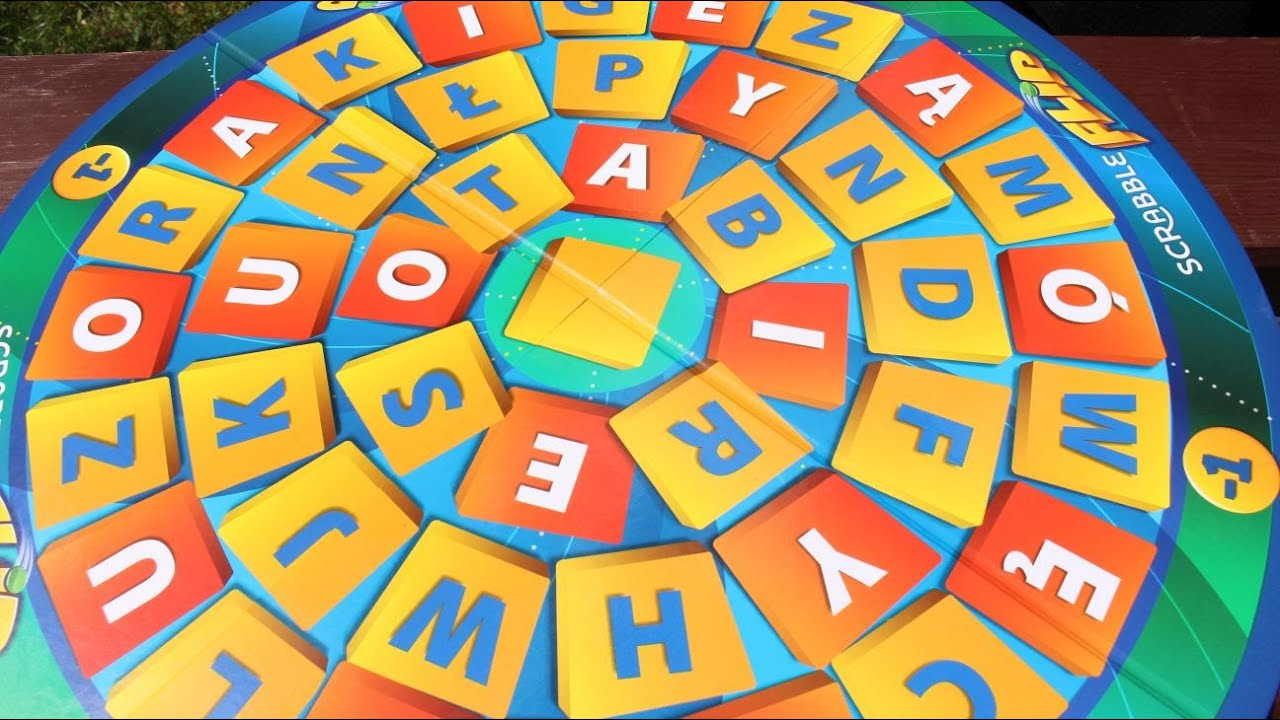 Mattel - Scrabble Flip - Word Game - CJN65 - YouTube