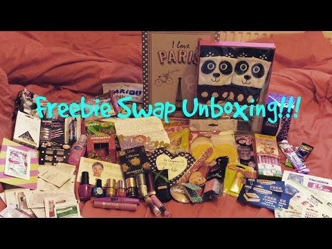 Swap Unboxing!! Freebies With Natasha!!!xx
