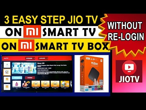 HOW TO INSTALL JIOTV ON MI TV OR MI TV BOX WITHOUT RE-LOGIN