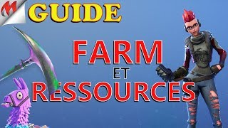 [FORTNITE-SAUVER THE WORLD] FARM GUIDE AND RESOURCES