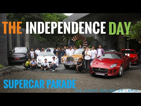 The Independence Day Supercar Parade Pune | The Event Round Up | EP.4
