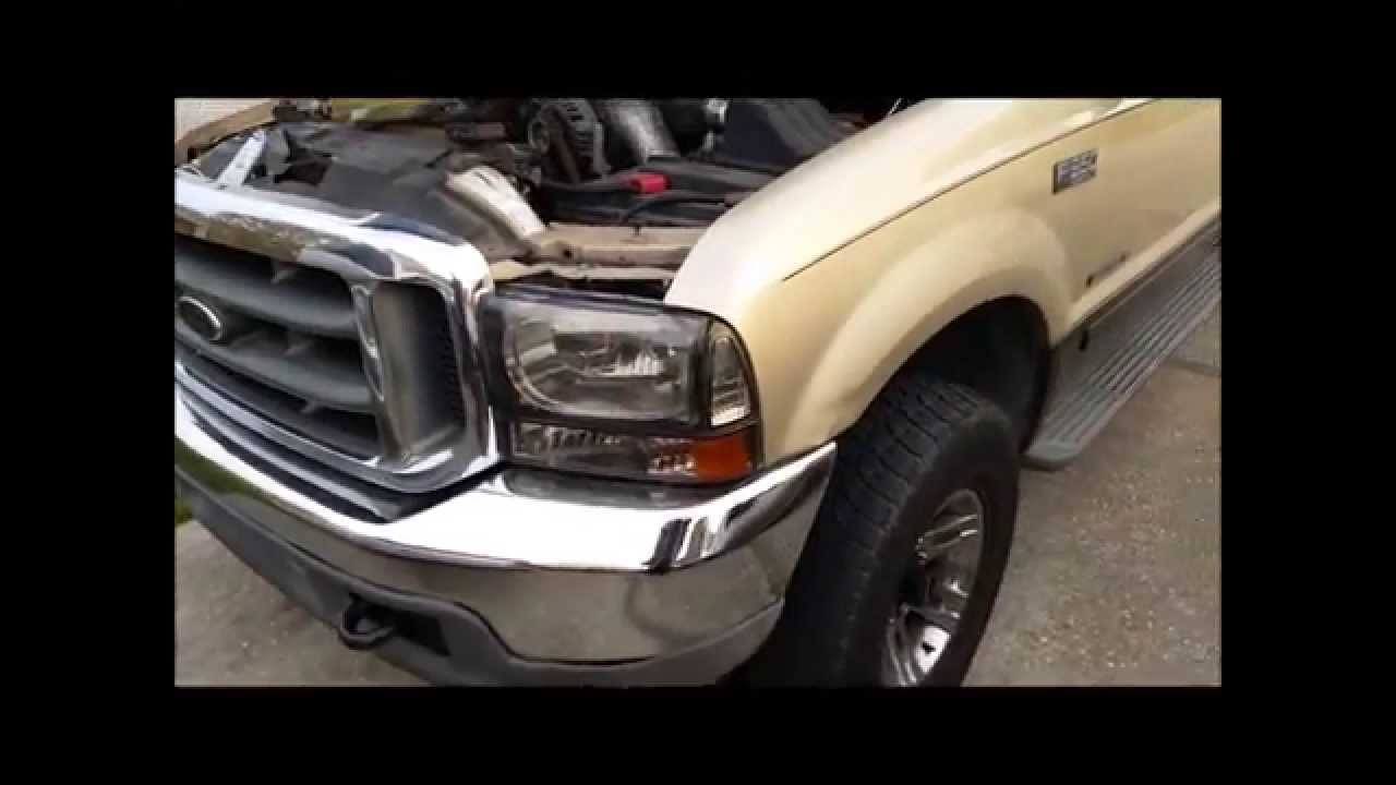 1997 2003 F250 F350 7 3l Cps F7tz 12k073 B Change Youtube