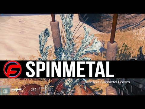 Destiny rise of iron new guardian academy ep 2 what is spinmetal