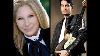 "Barbra Streisand with John Mayer  ""Come Rain Or Come Shine"""