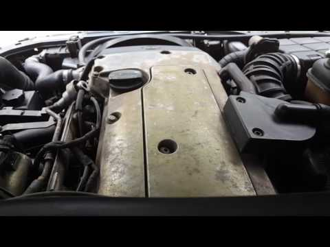 Mercedes Benz M111 Engine starting sound