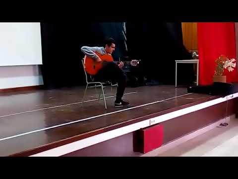 El Concertista De Guitarra Victor Franco Gutiérrez En El Instituto Español Melchor De Jovellanos (1)