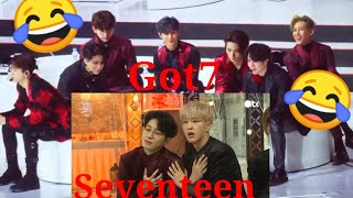 Download 200105 Got7 react to Seventeen in Gda 2020