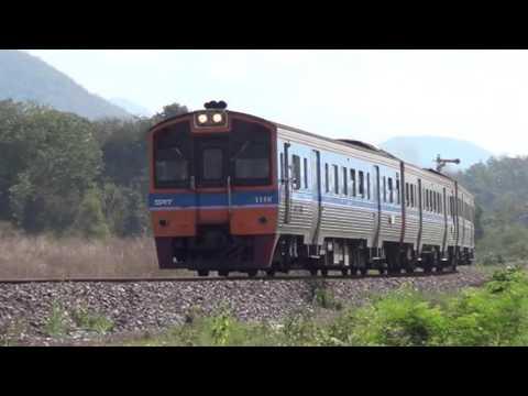 รถไฟไทย Nong Lom 2017