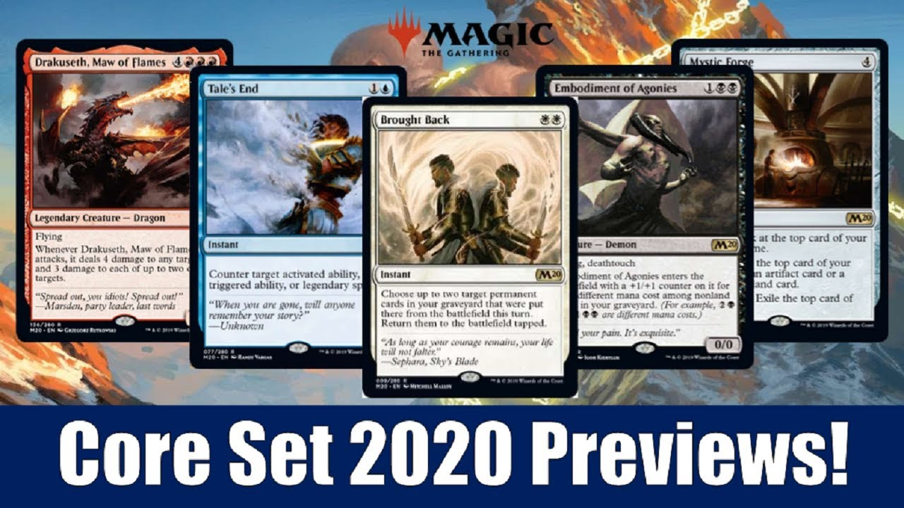 Best Card Games 2020.Mtg Core Set 2020 Previews 43 Card Including Grafdigger S Cage