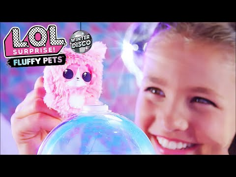 LOL Surprise! Winter Disco Fluffy Pets Commercial