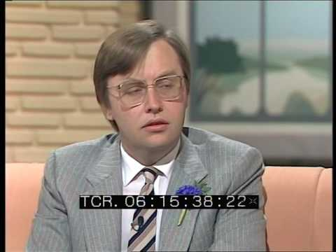 Interview with Harriet Harman and David Mellor   TV- am UK General Election Results   12 Jun 1987