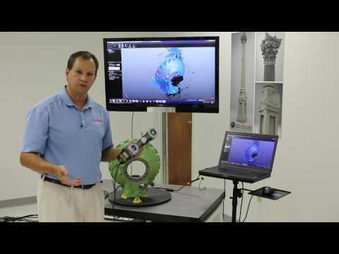 EMS Creaform HandySCAN 700 demo Video