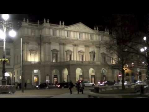 CECILIA BARTOLI ALLA SCALA DI MILANO - 3 DICEMBRE 2012