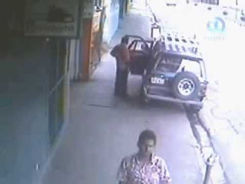 Fiji Scrap Metal Thieves caught on camera