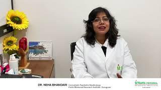 Symptoms of Kidney Diseases in Children   Dr. Neha Bhandari