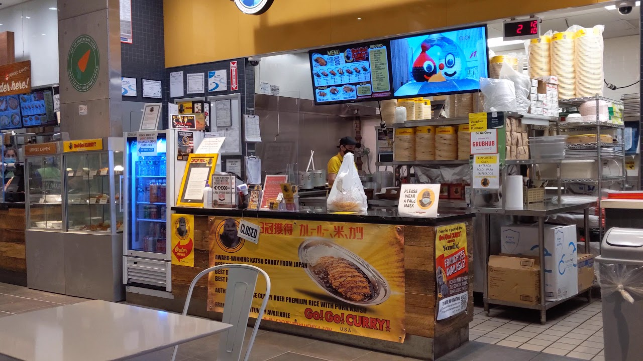 H Mart food court is quiet - YouTube