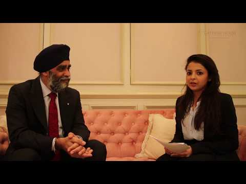 Interview with Harjit Sajjan, Canadian Minister for National Defence