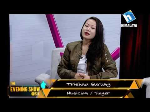 Subani Moktan with Trishna Gurung - Interview Part (LIVON-THE EVENING SHOW @S!X)