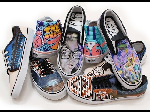 2014 Vans Custom Culture Shoe Design Process Rio Rancho High School