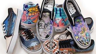 2014 Vans Custom Culture Shoe Design Process Rio Rancho High School
