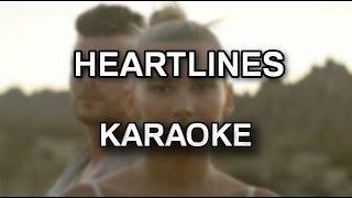 Broods - Heartlines [karaoke/instrumental with lyrics] - Polinstrumentalista