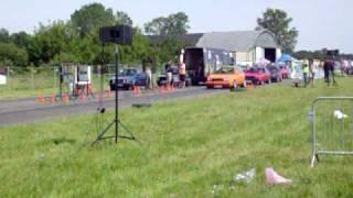 VW MANIA 2009 1/4 mili            /golf III vs. Golf II/