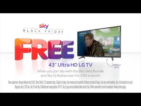 "532d858a2 Sky Black Friday has arrived with a FREE 43"" UHD LG TV - YouTube"