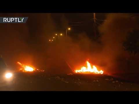 Honduras: Protestas contra presunto fraude electoral en Tegucigalpa
