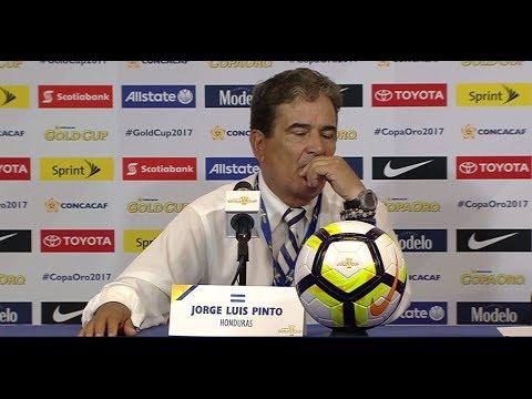 Jorge Luis Pinto después de empatar 0-0 contra Guayana Francesa