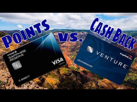 Travel  Rewards Points vs Cash Back