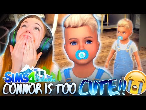 CANNOT 👏 HANDLE 👏 THE 👏 CUTENESS! 😩 (The Sims 4 IN THE SUBURBS #4! 🏘)