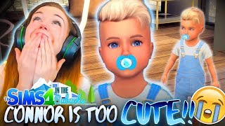 CANNOT  HANDLE  THE  CUTENESS!  (The Sims 4 IN THE SUBURBS #4! )
