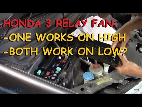 Honda Odyssey : One Cooling Fan Works On High / Both Work On Low?