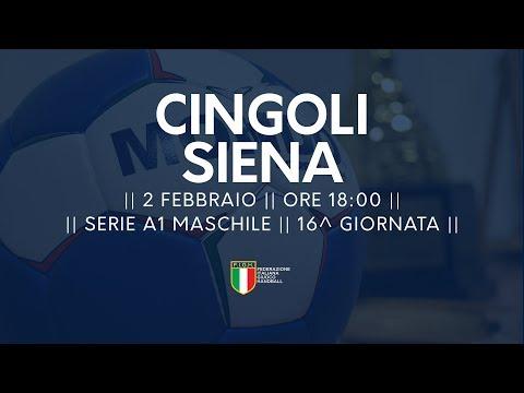 Serie A1M [16^]: Cingoli - Siena 26-26