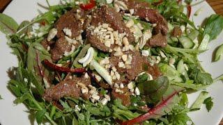 Юлия Высоцкая — Тайский салат с говядиной