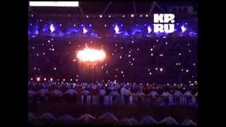 В Лондоне зажгли огонь Олимпийских игр(Торжественная церемония открытия XXX Летней Олимпиады прошла этой ночью на стадионе в Лондоне. Бюджет церем..., 2012-07-28T06:21:03.000Z)