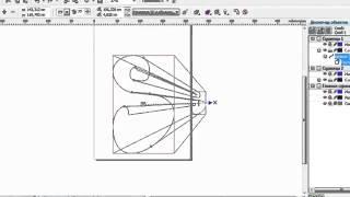 Уроки Корел. CorelDRAW для продвинутых. Экструзия объектов (6) Хорошее качество видео уроки для начи