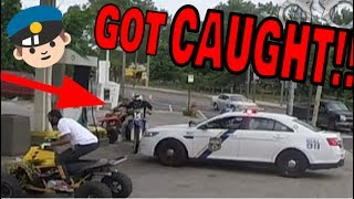 Video CAUGHT BY COPS GETTING GAS ON DIRT BIKE download MP3, 3GP, MP4, WEBM, AVI, FLV Agustus 2018