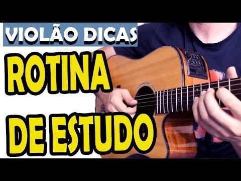 DICAS DE ROTINA DE TREINO NO VIOLÃO, PESTANAS, SOLOS, TEMPO DE TREINO