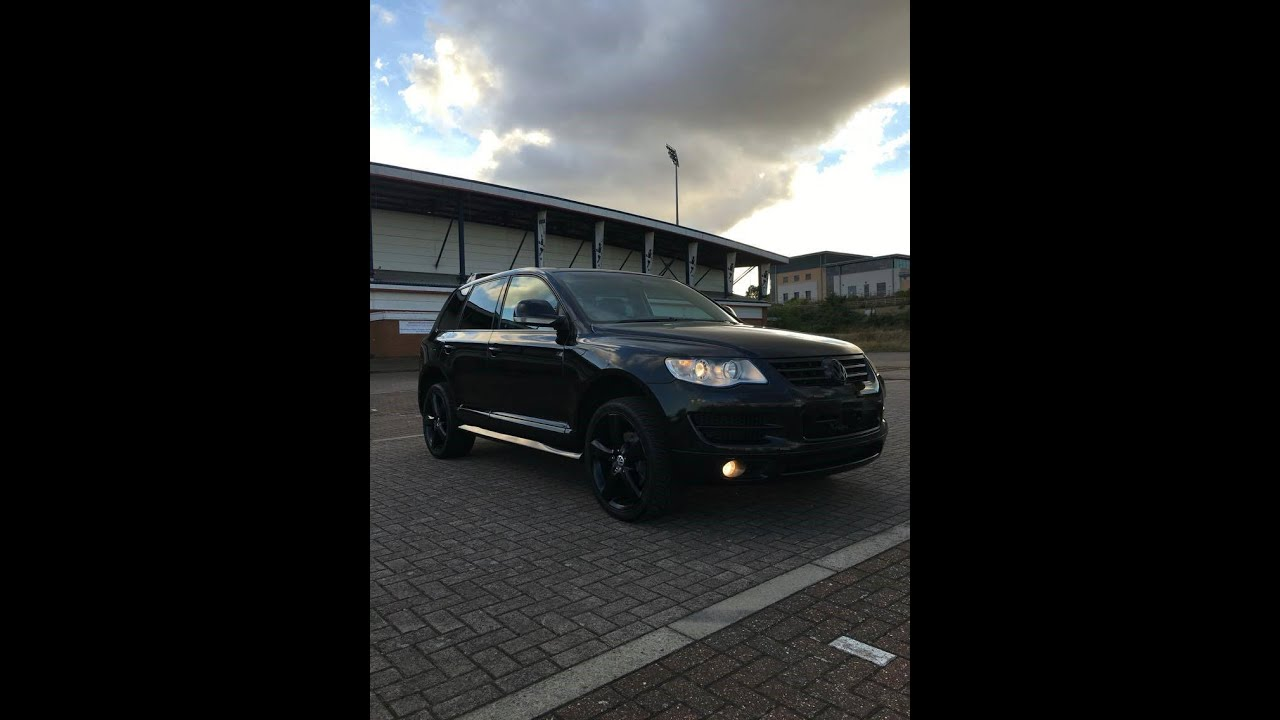 Vw Touareg Tdi >> 2007 Volkswagen Touareg 3.0 V6 TDI Custom Black Edition 20'' alloy wheels - YouTube