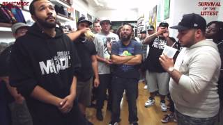 BMNY- EB vs VICCI- FREESTYLE RAP BATTLE