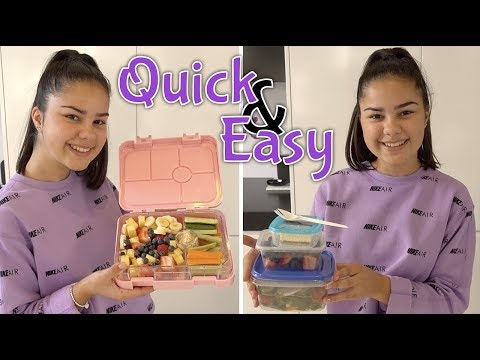 Quick and Easy School Lunch Ideas | Grace's Room