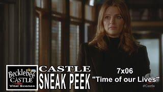 "Castle 7x06 Sneak Peek  # 1 ""Time Of Our Lives"" (HD/CC)  Captain Beckett  Season 7 Epsiode 6   |1|"