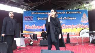 Annie Khalid - Mahiya - Live Performance at Lok Virsa HD