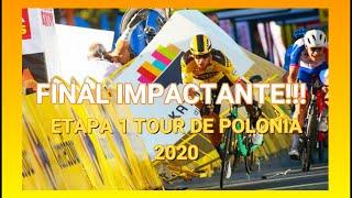 Etapa 1 Tour de Polonia 2020 | Final impactante | Resumen completo.