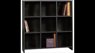 Sauder (mainstays) Bookcase  Black 412318 Complete  Assembly