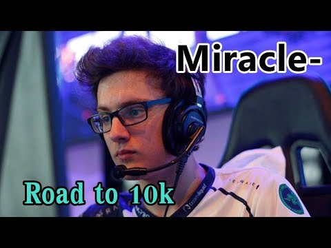 Dota 2 l Miracle- Invoker 9582 MMR Tryhard Road to 10k K(N)B