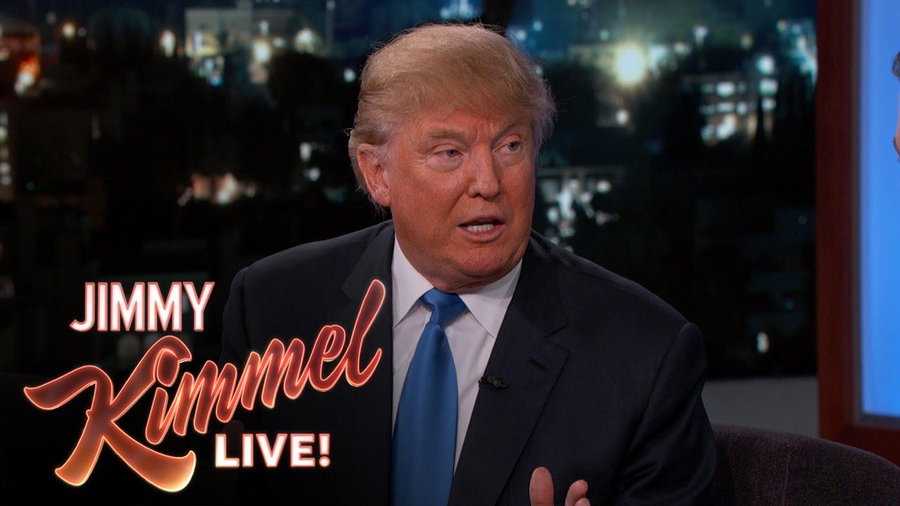 Jimmy Kimmel proposes a plan to make Trump king