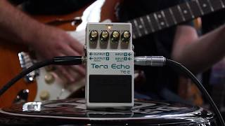 Boss Tera Echo Pedal | TE-2 | Music Junction